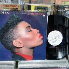 Discos de vinilo: LMV - ADEVA!. I THANK YOU. CHYSALIS 1990, REF. 052 32 3429 6 - MAXI-SINGLE. Lote 190757217
