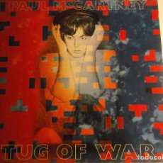Discos de vinilo: PAUL MCCARTNEY-TUG OF WAR-ORIGINAL ESPAÑOL-CONTIENE ENCARTE-ESTADO EXCELENTE. Lote 190764506