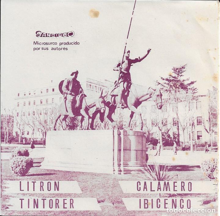CONJUNTO TIPICO SANDIEGO 1975 PASODOBLES (Música - Discos de Vinilo - EPs - Orquestas)