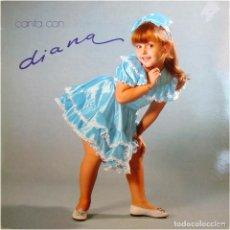 Discos de vinilo: DIANA – CANTA CON DIANA - LP SPAIN 1982 - DB BELTER 2-47.212. Lote 190794171