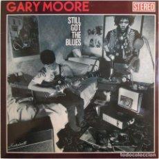 Discos de vinilo: GARY MOORE – STILL GOT THE BLUES - LP SPAIN 1990 - VIRGIN LL-210 558. Lote 190794400