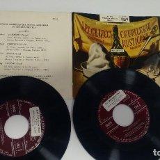 Discos de vinilo: SINGLE ( VINILO)-DOBLE- OPERA ( CAVALLERIA RUSTICANA). Lote 190794487