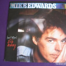 Discos de vinilo: MIKE EDWARDS SG CGD 1984 (WON'T LET YOU) SLIP AWAY +1 ITALODISCO 80'S - SYNTH POP DISCO ITALIA. Lote 190795735
