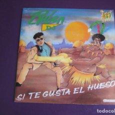 Discos de vinilo: RUBEN DJ SG MANZANA 1993 - SI TE GUSTA EL HUESO! +1 SALSA 90'S - SIN USO . Lote 190797516