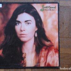 Discos de vinilo: MARÍA DEL MAR BONET. JARDÍ TANCAT. ARIOLA, I-203 170. ESPAÑA, 1981. GATEFOLD.. Lote 190801420