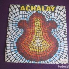 Discos de vinilo: L'ENSEMBLE CONJUNTO ACHALAY SG BAM FRANCIA - LOS MAMONALES +1 - MUSICA FOLK ANDES BOLIVIA CHILE. Lote 190801988