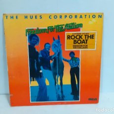 Discos de vinilo: THE HUES CORPORATION -FREEDOM FOR THE STALLION (532). Lote 190816918