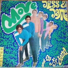 Discos de vinilo: JESS & JAMES AND THE J.J. BAND - MOVE LP 1968 RARA EDICION ESPAÑOLA EN MONO. Lote 190830040