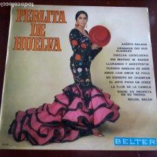 Discos de vinilo: PERLITA DE HUELVA - LP - BELTER - 1969. Lote 190831630