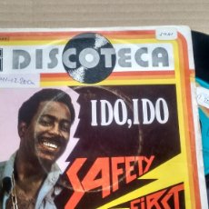 Discos de vinilo: SINGLE ( VINILO) DE SAFETY FIRST AÑOS 70. Lote 190839880