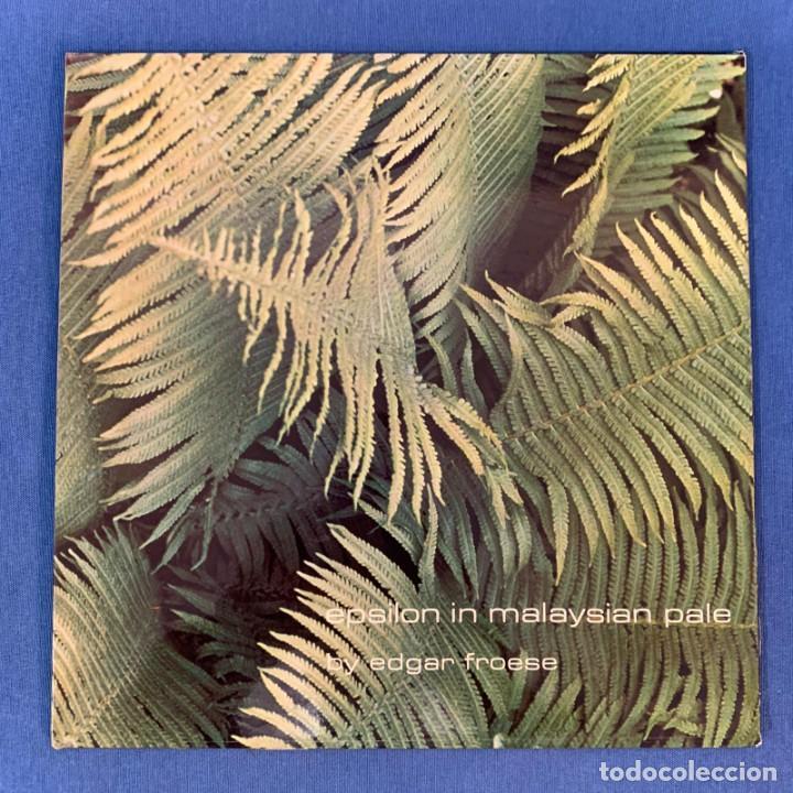 LP - EDGAR FROESE - EPSILON IN MALAYSIAN PALE - ESPAÑA - 1976 - NM (Música - Discos - LP Vinilo - Electrónica, Avantgarde y Experimental)