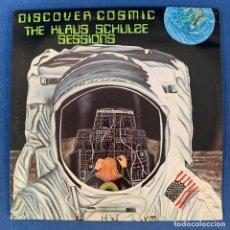 Discos de vinilo: LP - DISCOVER COSMIC - KLAUS SCHULZE SESSIONS - DOBLE LP - FRANCIA - 1975 - VG. Lote 190846565