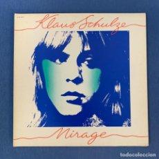 Discos de vinilo: LP - KLAUS SCHULZE - MIRAGE - FRANCIA - 1977 - VG. Lote 190846956