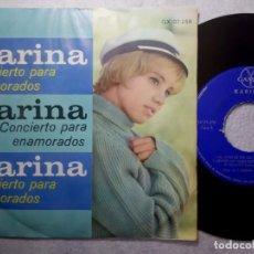 Discos de vinilo: KARINA - CONCIERTO PARA ENAMORADOS - EP MEXICANO - GAMMA. Lote 190853232