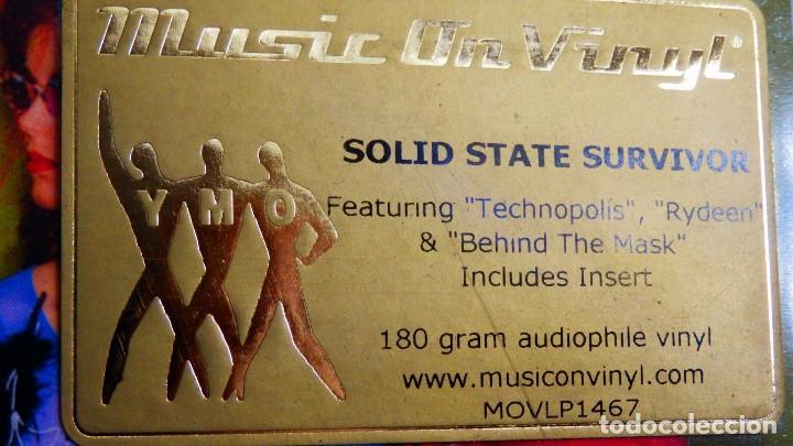 Discos de vinilo: YELLOW MAGIC ORCHESTRA * LP 180g audiophile virgin vinyl * Solid State Survivor * Funda PVC - Foto 2 - 190854547