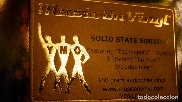 Discos de vinilo: YELLOW MAGIC ORCHESTRA * LP 180g audiophile virgin vinyl * Solid State Survivor * Funda PVC - Foto 4 - 190854547