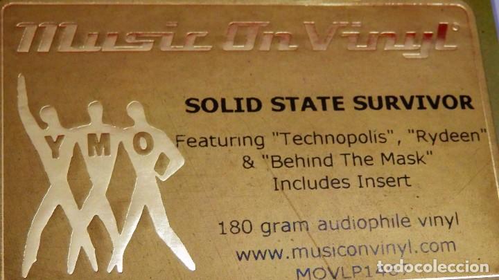 Discos de vinilo: YELLOW MAGIC ORCHESTRA * LP 180g audiophile virgin vinyl * Solid State Survivor * Funda PVC - Foto 11 - 190854547