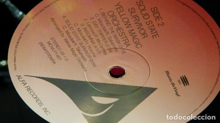 Discos de vinilo: YELLOW MAGIC ORCHESTRA * LP 180g audiophile virgin vinyl * Solid State Survivor * Funda PVC - Foto 12 - 190854547