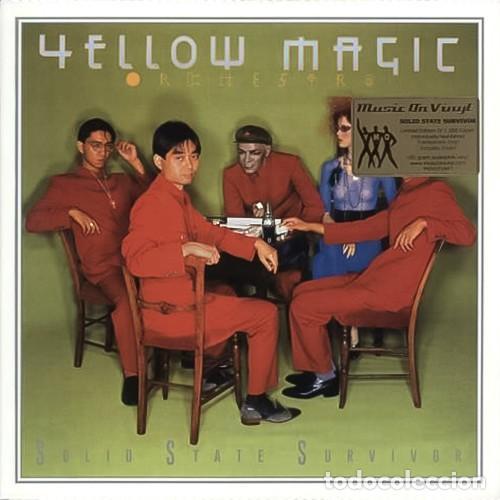 YELLOW MAGIC ORCHESTRA * LP 180G AUDIOPHILE VIRGIN VINYL * SOLID STATE SURVIVOR * FUNDA PVC (Música - Discos - LP Vinilo - Pop - Rock - New Wave Extranjero de los 80)