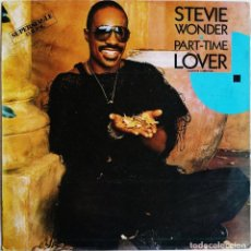 Discos de vinilo: STEVIE WONDER ‎– PART-TIME LOVER = AMANTE A MEDIAS, MOTOWN SPTO-60225. Lote 190856132