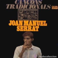 Discos de vinilo: JOAN MANUEL SERRAT. CANÇONS TRADICIONALS. LP EDIGSA 1967. Lote 190864351
