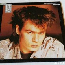 Disques de vinyle: NIK KERSHAW - WIDE BOY - 1985. Lote 190867233
