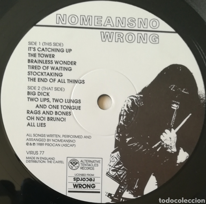 Discos de vinilo: Disco NoMeansNo - Foto 5 - 190874533