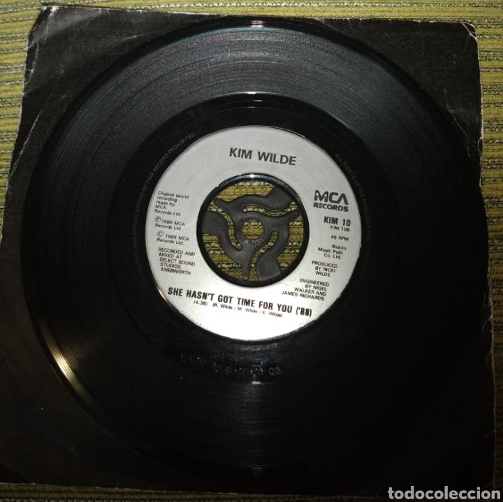 Discos de vinilo: Kim Wilde - four letter word. SOLO DISCO - Foto 2 - 190875078