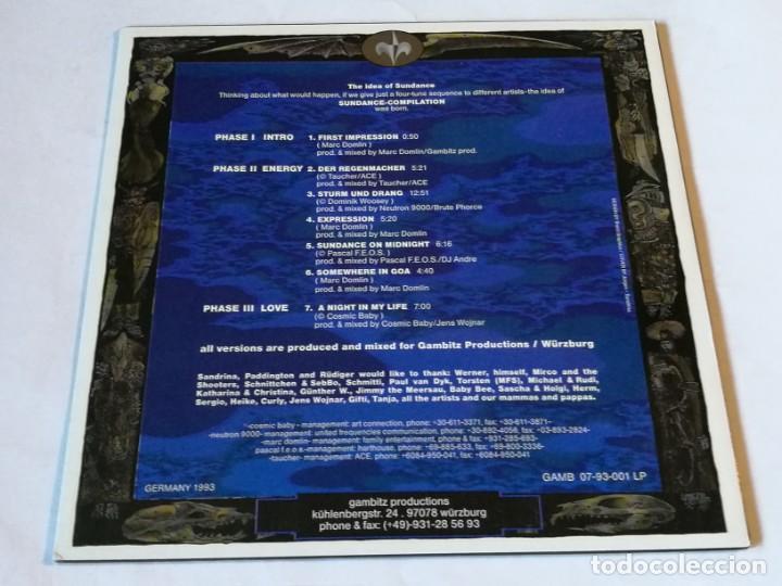 Discos de vinilo: Various - Sundance - 1993 - LP - Foto 2 - 190875362