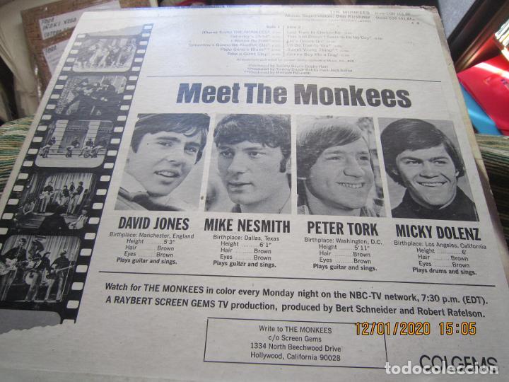 Discos de vinilo: THE MONKEES - MEET THE MONKEES LP - ORIGINAL U.S.A. - COLGEMS RECORDS 1966 - MONOAURAL - Foto 7 - 190875870