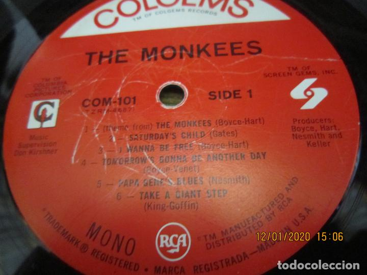 Discos de vinilo: THE MONKEES - MEET THE MONKEES LP - ORIGINAL U.S.A. - COLGEMS RECORDS 1966 - MONOAURAL - Foto 11 - 190875870