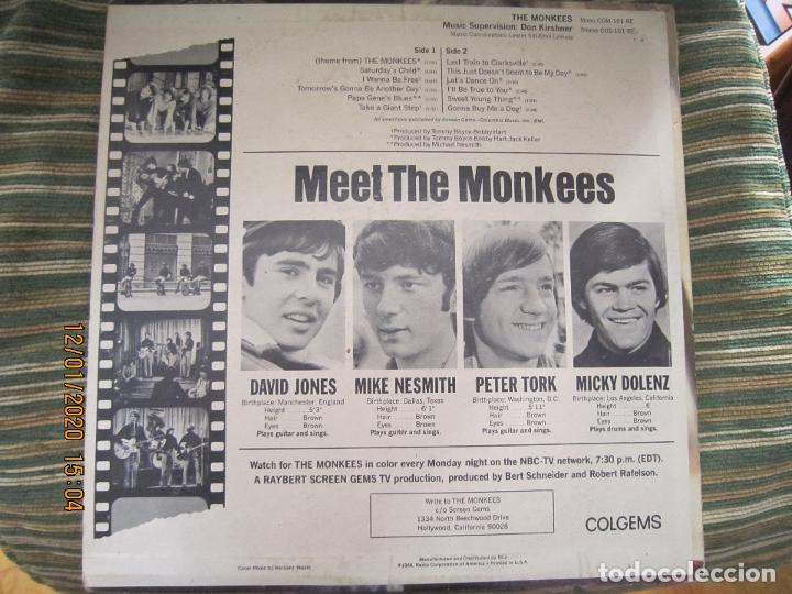 Discos de vinilo: THE MONKEES - MEET THE MONKEES LP - ORIGINAL U.S.A. - COLGEMS RECORDS 1966 - MONOAURAL - Foto 15 - 190875870
