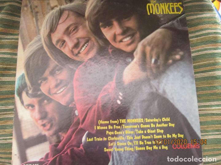 THE MONKEES - MEET THE MONKEES LP - ORIGINAL U.S.A. - COLGEMS RECORDS 1966 - MONOAURAL (Música - Discos - LP Vinilo - Pop - Rock Extranjero de los 50 y 60)