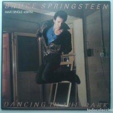 Discos de vinilo: BRUCE SPRINGSTEEN – DANCING IN THE DARK HOLANDA 1984 MAXI45 CBS. Lote 218125623