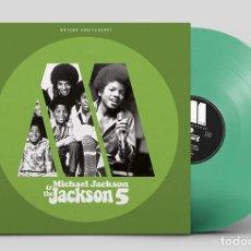 Discos de vinil: MICHAEL JACKSON & THE JACKSON 5 MOTOWN ANNIVERSARY VINILE LP GREEN-SEALED. Lote 190879341