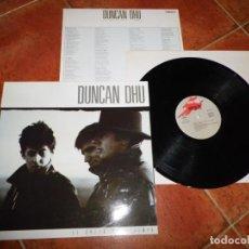Discos de vinilo: DUNCAN DHU EL GRITO DEL TIEMPO LP VINILO DEL AÑO 1987 MIKEL ERENTXUN DIEGO VASALLO CONTIENE 13 TEMAS. Lote 190894395