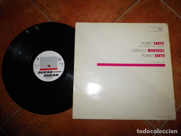 Discos de vinilo: DURAN DURAN WITH COMPLIMENTS MAXI SINGLE VINILO PROMO HOLANDA 1981 EMI JOHN TAYLOR 3 TEMAS MUY RARO - Foto 2 - 190895005