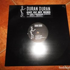 Discos de vinilo: DURAN DURAN OUT OF MY MIND BANDA SONORA EL SANTO MAXI SINGLE VINILO PROMO UK 1997 VIRGIN 4 TEMAS. Lote 190899632