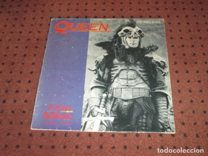 Discos de vinilo: QUEEN - A KIND OF MAGIC - MAXI - SPAIN - EMI - L - - Foto 2 - 190899872