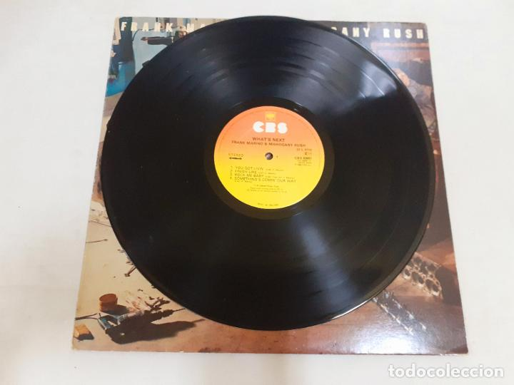 Discos de vinilo: FRANK MARINO Y MAHOGANY RUSH- WHATS NEXT (549) - Foto 3 - 190899976