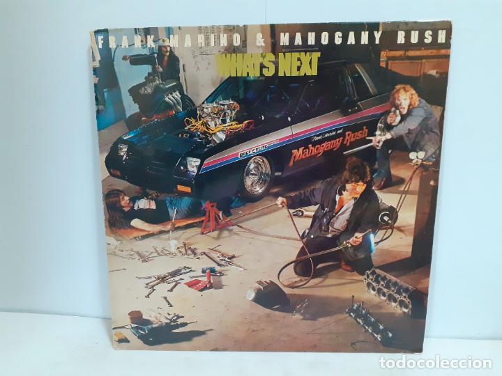 FRANK MARINO Y MAHOGANY RUSH- WHATS NEXT (549) (Música - Discos - LP Vinilo - Rock & Roll)
