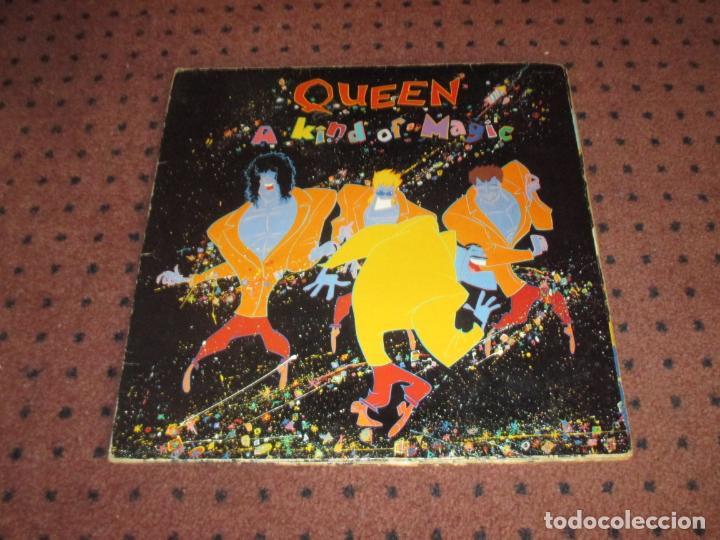 Discos de vinilo: QUEEN - A KIND OF MAGIC - UK - EMI - INCLUYE ENCARTE - GATEFOLD - L - - Foto 2 - 190900186