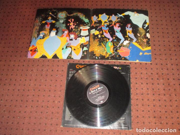 Discos de vinilo: QUEEN - A KIND OF MAGIC - UK - EMI - INCLUYE ENCARTE - GATEFOLD - L - - Foto 3 - 190900186