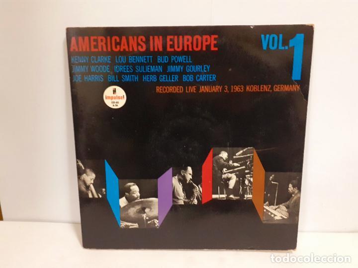 AMERICANS IN EUROPE VOL.1 (550) (Música - Discos - LP Vinilo - Jazz, Jazz-Rock, Blues y R&B)