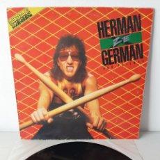 Discos de vinilo: HERMAN ZE GERMAN AND FIRENDS. BATERIA DE SCORPIONS. CAPITOL. 1986. ESPAÑA.. Lote 190900397