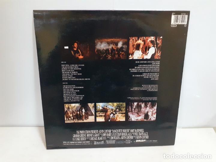 Discos de vinilo: DANCE WITH WOLVES - ORIGINAL MOTION PICTURE SOUNDTRACK (551) - Foto 2 - 190900555