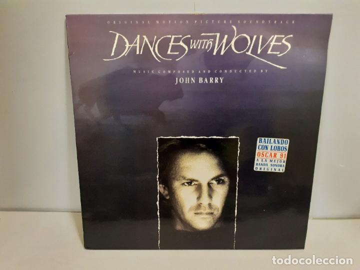DANCE WITH WOLVES - ORIGINAL MOTION PICTURE SOUNDTRACK (551) (Música - Discos - LP Vinilo - Bandas Sonoras y Música de Actores )
