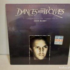 Discos de vinilo: DANCE WITH WOLVES - ORIGINAL MOTION PICTURE SOUNDTRACK (551). Lote 190900555
