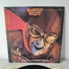 Discos de vinilo: BARON ROJO. METALMORFOSIS. CHAPA RECORDS. 1983. SPAIN.. Lote 190900813