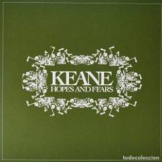 Discos de vinilo: LP KEANE HOPES AND FEARS VINILO. Lote 190924490